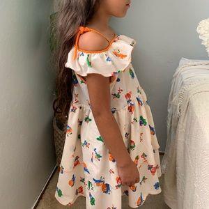 Other - Girls vintage orange dress